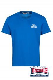 T-shirt LONSDALE LONDON FARMCOTE Niebieska