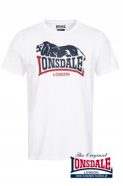 T-shirt LONSDALE LONDON HOPPERTON Biały