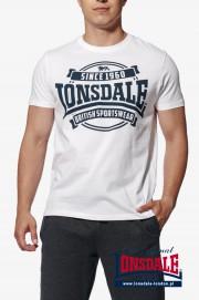 T-shirt LONSDALE LONDON NECTON Biała