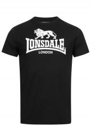 T-shirt LONSDALE LONDON ST.ERNEY Czarny
