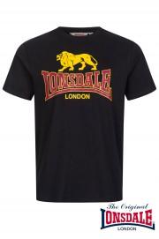 T-shirt LONSDALE LONDON TAVERHAM Czarna