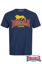 T-shirt LONSDALE LONDON TAVERHAM Granatowa