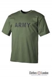 T-Shirt, koszulka militarna MAX FUCHS ARMY Oliwkowa