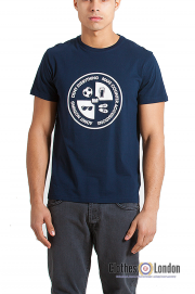 T-shirt WEEKEND OFFENDER DENY Everything Granatowy