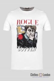 T-shirt WEEKEND OFFENDER ROGUE BOVVER Biała
