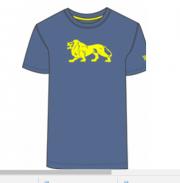 T-Shirt LONSDALE LONDON WILTON ciemnoniebieski