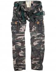Spodnie bojówki SURPLUS PREMIUM SLIMMY woodland