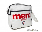 Torba na ramię Merc London Airline Bag Biała