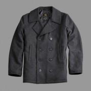 """Płaszcz """"Bosmanka"""" dwurzędowy Alpha Industries PEA USN Coat Szary"""