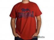 T-shirt  Lonsdale London Logo Czerwony