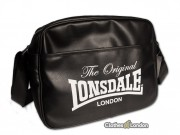 Torba na ramię Lonsdale London The Orginal Czarna