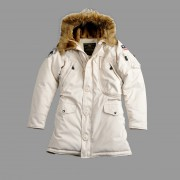 Kurtka zimowa damska parka Alpha Industries Polar Jacket Wmn Biała