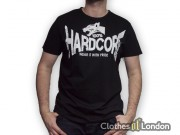 T-shirt 100% Hardcore Dog2 Czarne