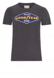 T-shirt GOODYEAR EAST LAKE ciemnoszary