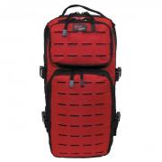 Szturmowy plecak MAX FUCHS ASSAULT TRAVEL czarno czerwony