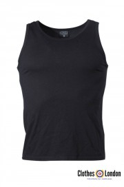 Tank Top koszulka bez rękawów czarna MAX FUCHS