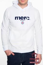 Bluza z kapturem MERC LONDON PILL Biała