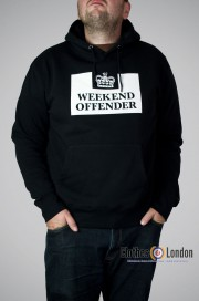 Rozpinana bluza z kapturem Weekend Offender Czarna