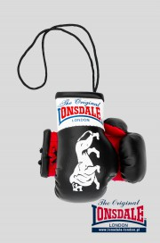 Brelok na lusterko LONSDALE LONDON Mini Gloves Czarny