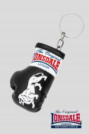 Brelok na klucze LONSDALE LONDON Mini Gloves Keyring Czarny