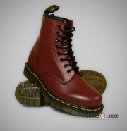 Buty Dr Martens 1460 Cherry Smooth Wiśniowe