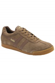 Zamszowe buty GOLA HARRIER CASUAL TRAINERS brązowe