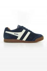 Zamszowe buty GOLA HARRIER CASUAL TRAINERS Granatowe 3
