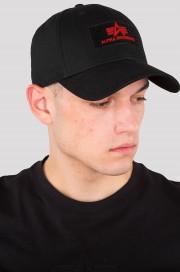 Czapka z daszkiem ALPHA INDUSTRIES VLC II Czarna 2