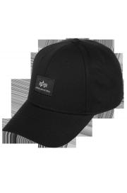 Czapka z daszkiem ALPHA INDUSTRIES X-FIT CAP II czarna
