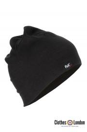 Zimowa czapka sportowa z wełny MERINO Max Fuchs Czarna