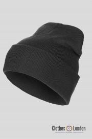 """Wełniana czapka zimowa """"Dokerka"""" MAX FUCHS czarna"""