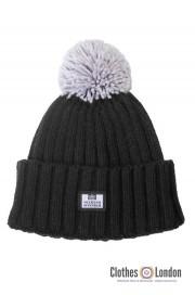 Wełniana czapka zimowa WEEKEND OFFENDER BAMBESI Czarna