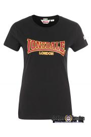 Koszulka damska LONSDALE LONDON HELMSLEY czarna