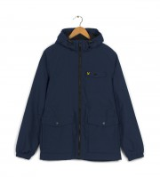 Kurtka LYLE & SCOTT FLEECE LINED JACKET granatowa
