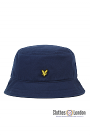 Kapelusz LYLE & SCOTT TWILL BUCKET HAT Granatowy