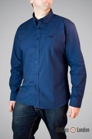 Koszula z długim rękawem Lonsdale London Fairford Granatowa