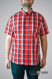 Koszula z krótkim rękawem WARRIOR COOK, czerwona