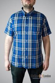 Koszula z krótkim rękawem WARRIOR JONES, niebieska