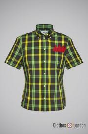 Damska koszula Brutus Trimfit Jamaican Zielona
