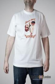 T-Shirt DICKIES HELENDALE biały