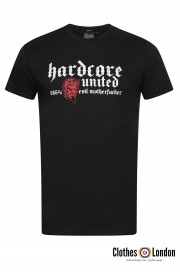 T-shirt HARDCORE UNITED 666% czarny