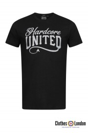 T-shirt HARDCORE UNITED REFLECT czarny