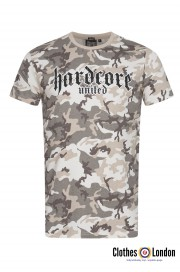 T-shirt HARDCORE UNITED URBAN czarny