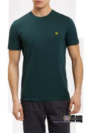 T-Shirt LYLE & SCOTT CREW NECK Zielony