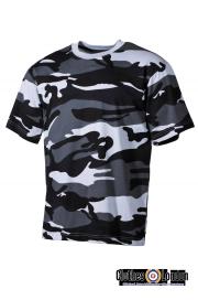 T-Shirt MORO MAX FUCHS w kamuflarzu Skyblue
