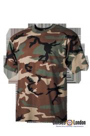 T-Shirt MORO MAX FUCHS w kamuflarzu Woodland