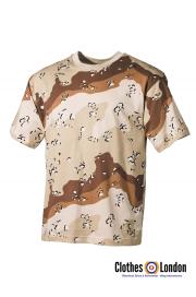 T-Shirt MORO MAX FUCHS w kamuflarzu Desert