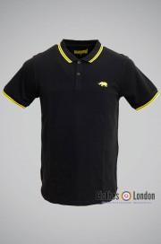 Koszulka Polo HARRINGTON czarna