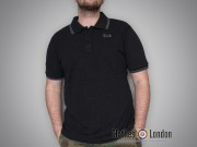 Koszulka Polo Lonsdale London Joel Czarna