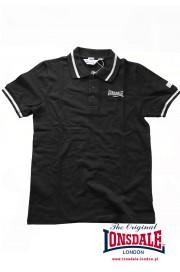 Koszulka Polo LONSDALE LONDON CAUSTON czarna